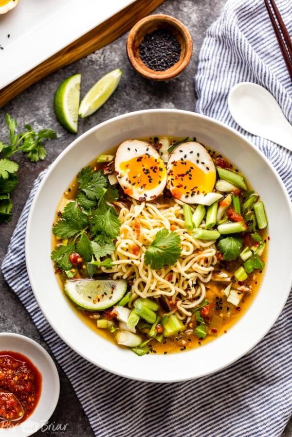 Instant Pot Chicken Ramen #instantpot #pressurecooker #noodles #dinner #recipe