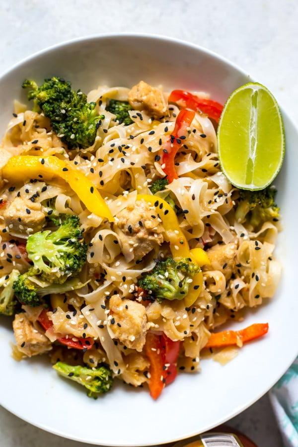Spicy Honey Garlic Instant Pot Noodles #instantpot #pressurecooker #noodles #dinner #recipe