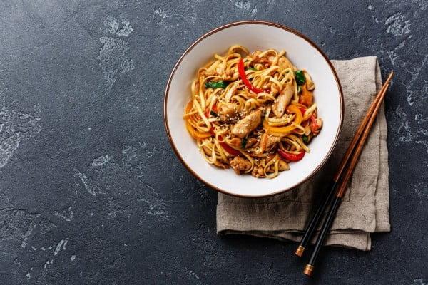 Instant Pot Chicken Noodle #instantpot #pressurecooker #noodles #dinner #recipe