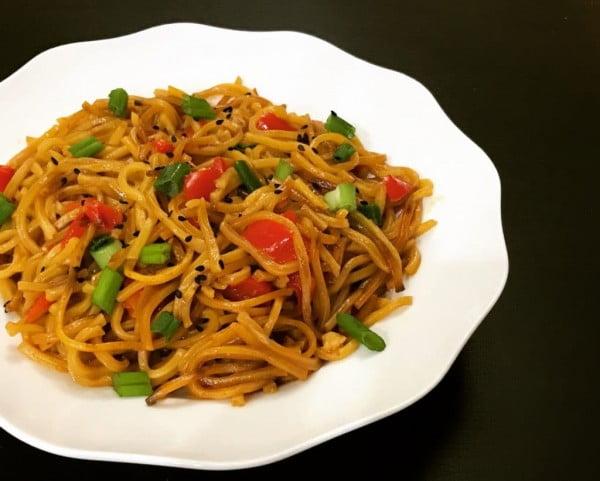 Garlic Noodles – Instant Pot Pressure Cooker #instantpot #pressurecooker #noodles #dinner #recipe