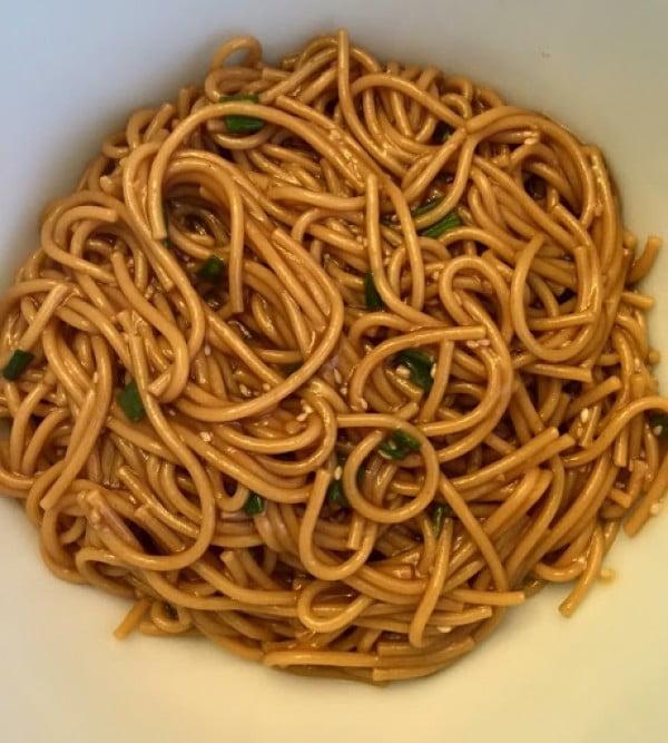 Sesame Noodles #instantpot #pressurecooker #noodles #dinner #recipe