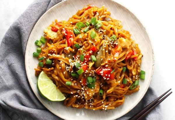 Instant Pot Sticky Noodles #instantpot #pressurecooker #noodles #dinner #recipe