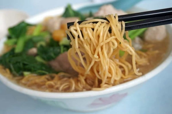 Instant Pot Chinese Noodle Soup #instantpot #pressurecooker #noodles #dinner #recipe