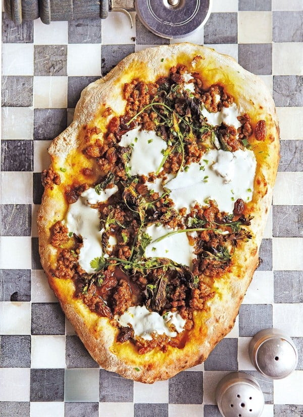 Lebanese lamb flatbread #lamb #dinner #recipe