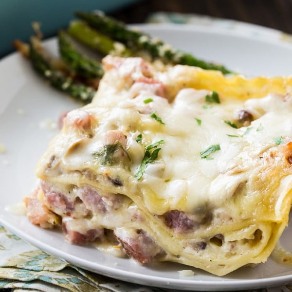 Ham Lasagna #lasagna #dinner #food #recipe