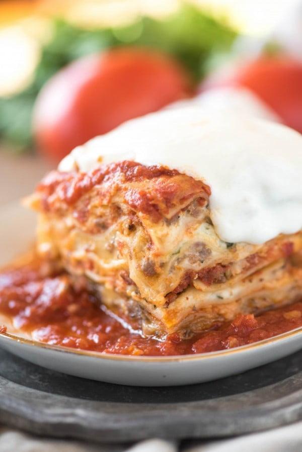 Million Dollar Easy Lasagna Go Go Go Gourmet #lasagna #dinner #food #recipe