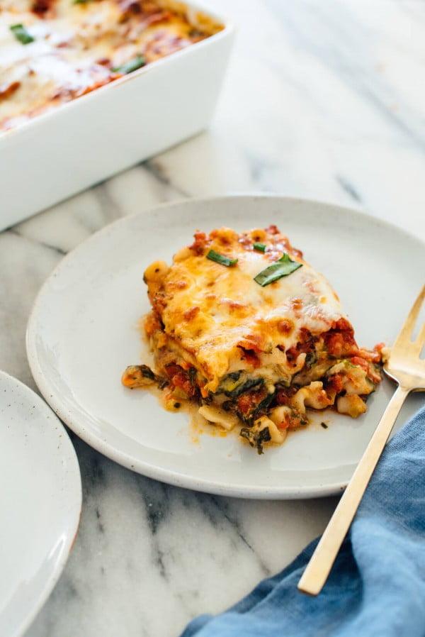 Best Vegetable Lasagna Recipe #lasagna #dinner #food #recipe