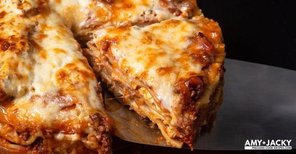 Mouthwatering Instant Pot Lasagna #lasagna #dinner #food #recipe