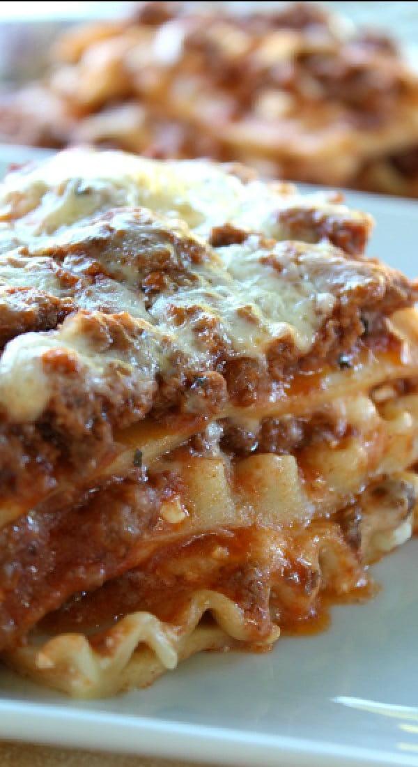 Classic Lasagna #lasagna #dinner #food #recipe