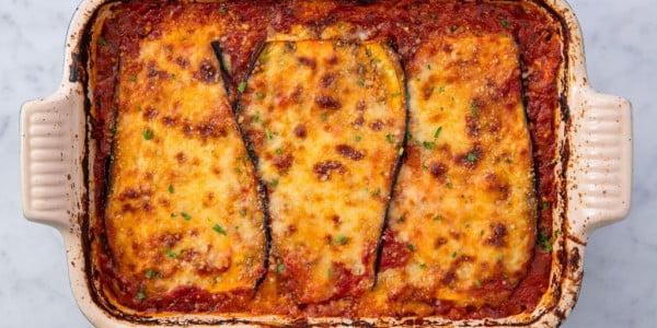 Eggplant Lasagna #lasagna #dinner #food #recipe