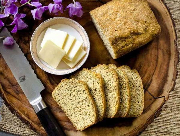 Keto Bread #lowcarb #bread #dinner #breakfast #lunch #recipe
