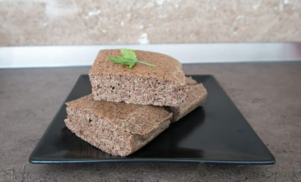 Keto Flaxseed Bread #lowcarb #bread #dinner #breakfast #lunch #recipe