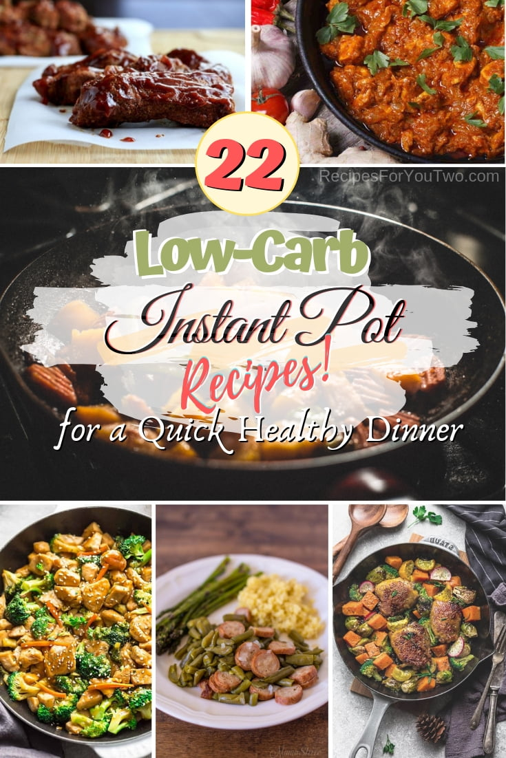 Check out these remarkable low-carb instant pot recipes for a healthy and quick dinner! #recipe #dinner #instantpot #lowcarb