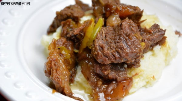 Instant Pot Butter Beef #lowcarb #instantpot #dinner #recipe #food