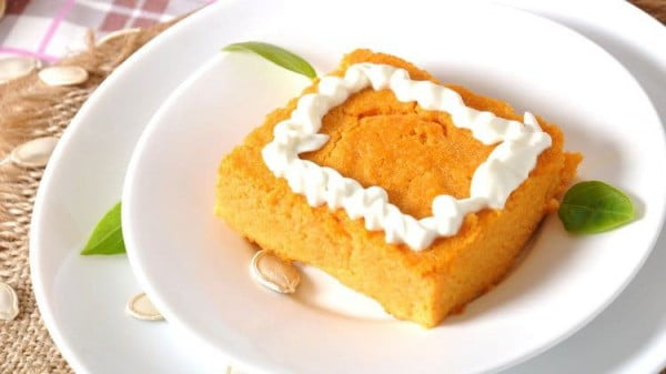 Weight Watchers Pumpkin Pie #lowfat #healthy #dessert #recipe
