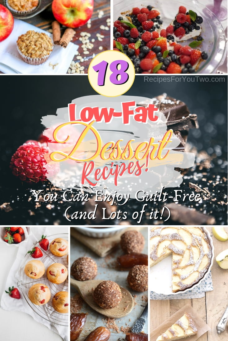 You can eat these desserts guilt-free - they are low-fat and low-calorie options for healthy eating. Great recipe ideas! #lowfat #lowcalorie #dessert #recipe
