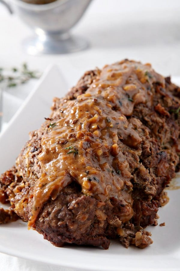 Instant Pot French Onion Meatloaf #meatloaf #recipe #dinner