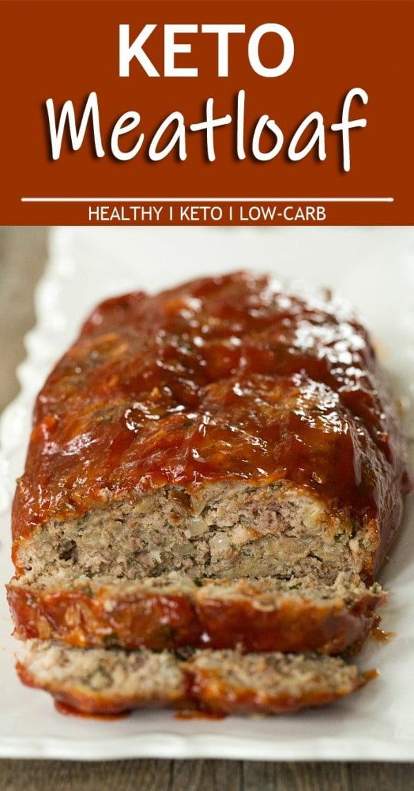 Keto Meatloaf #meatloaf #recipe #dinner