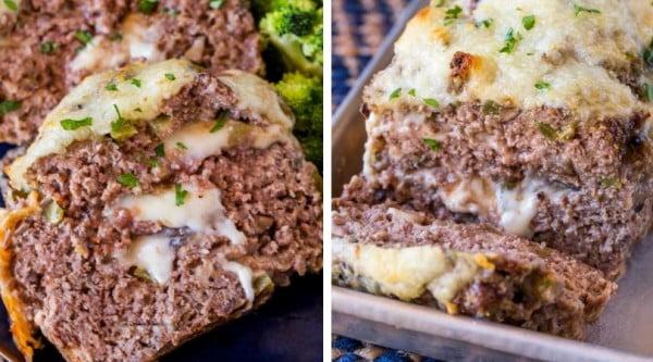 Philly Cheesesteak Meatloaf #meatloaf #recipe #dinner