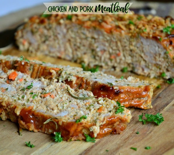 Chicken and Pork Meatloaf (A Family Favorite) #meatloaf #recipe #dinner