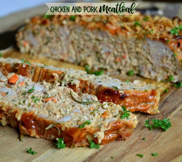 Chicken and Pork Meatloaf (A Family Favorite) #meatloaf #recipe #dinner
