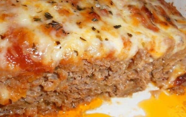 Pizza meatloaf #meatloaf #recipe #dinner