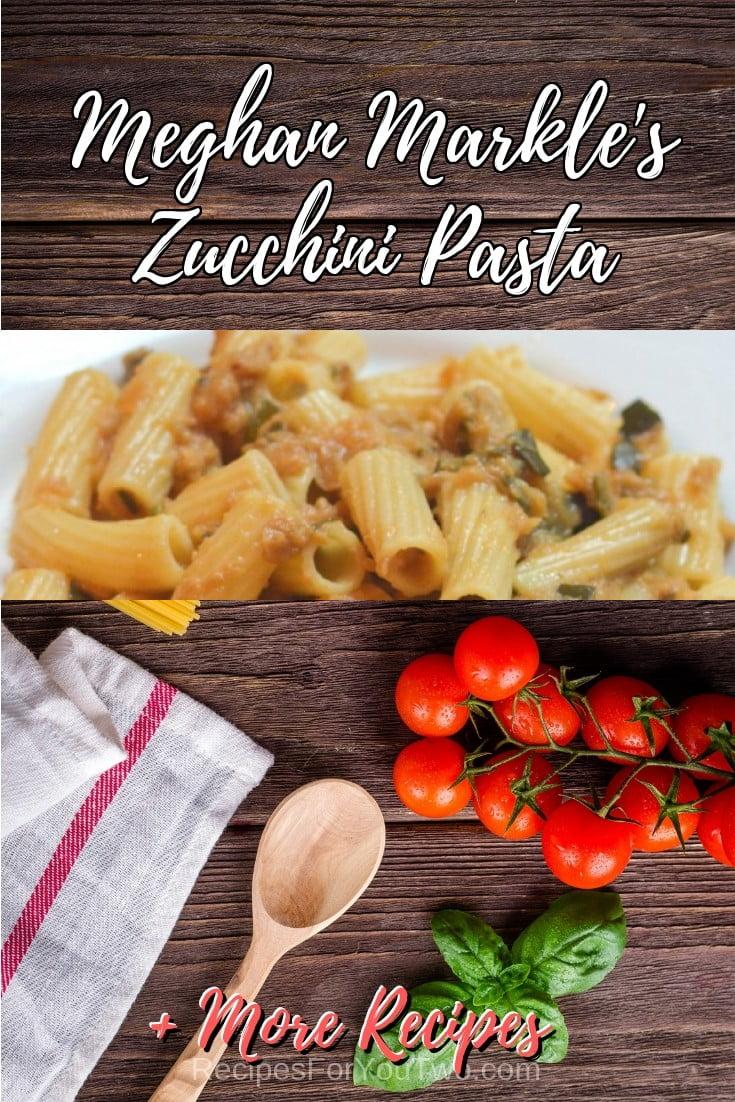 Meghan Markle's Zucchini Pasta #crockpot #slowcooker #pasta #dinner #food #recipe
