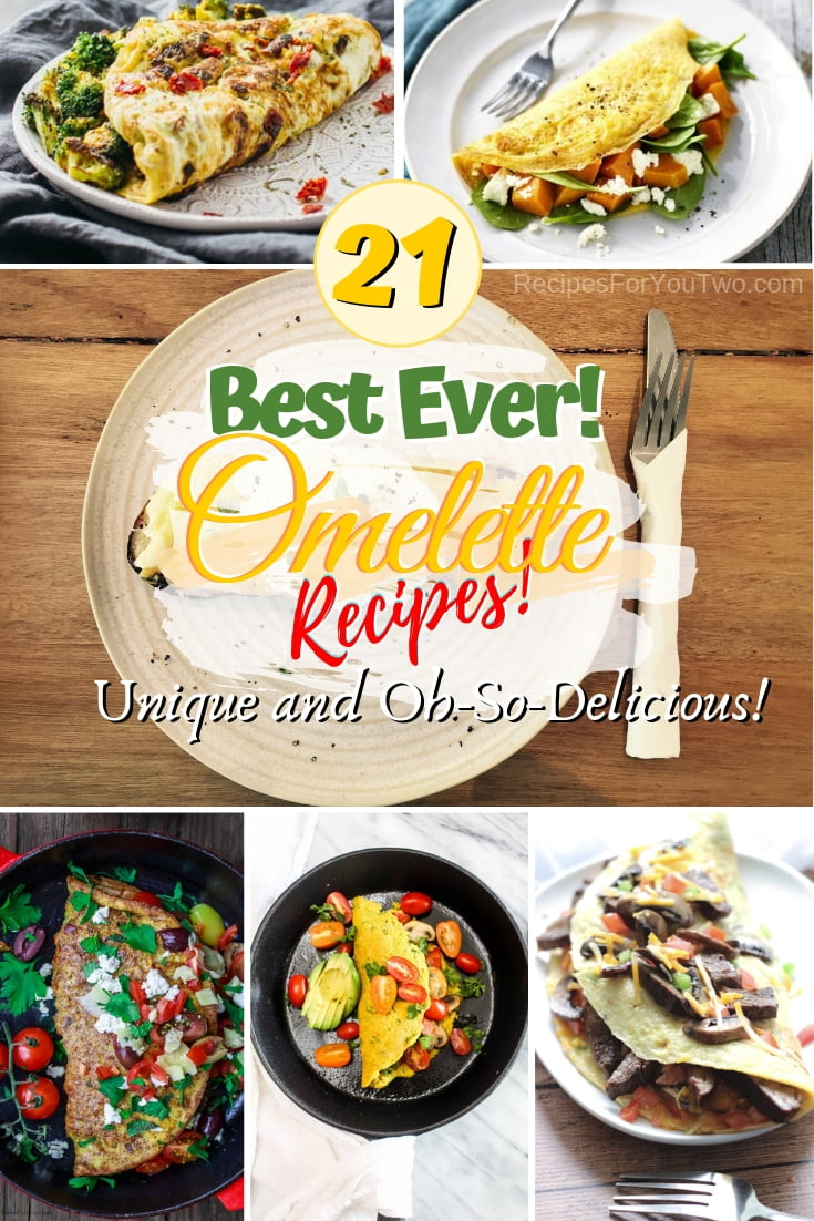 Check out the best recipes for the humble omelette from all around the world. Great recipes! #breakfast #eggs #omelette #recipe
