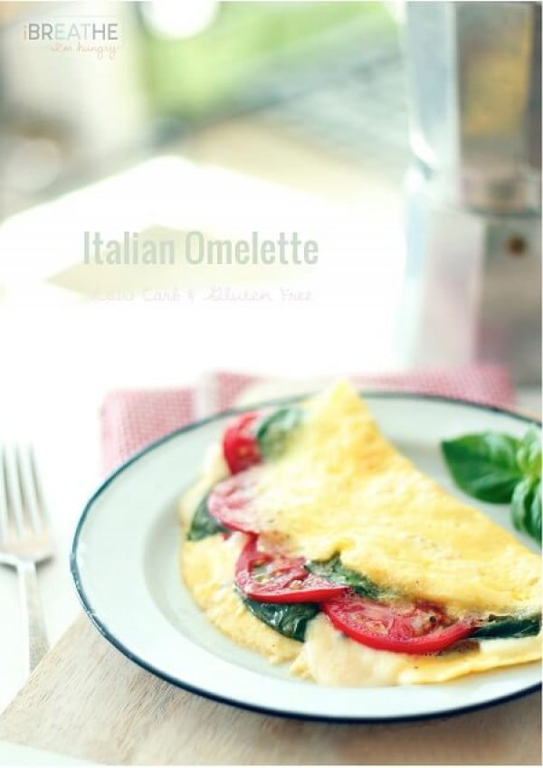 Italian Omelette #omelette #breakfast #eggs #recipe