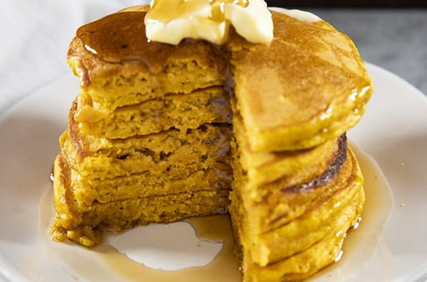 Perfect Pumpkin Pancakes #pancakes #dinner #lunch #snack #food #recipe