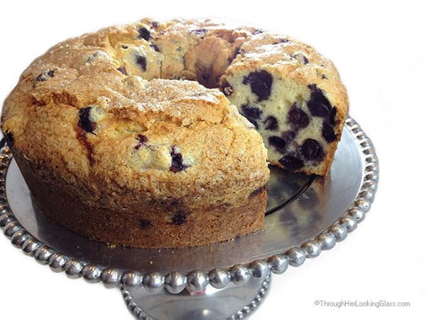 Blueberry Pound Cake #poundcake #cake #recipe #dessert