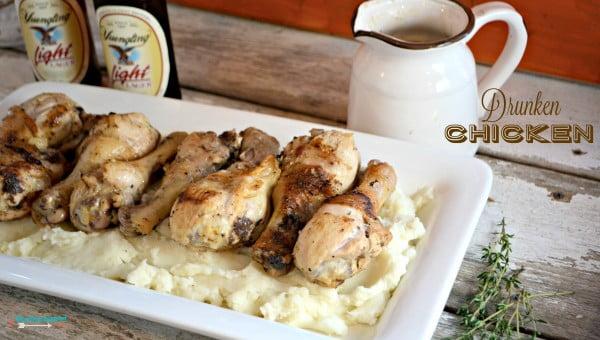 Drunken Chicken with Yuengling Beer #beer #dinner #recipe #food