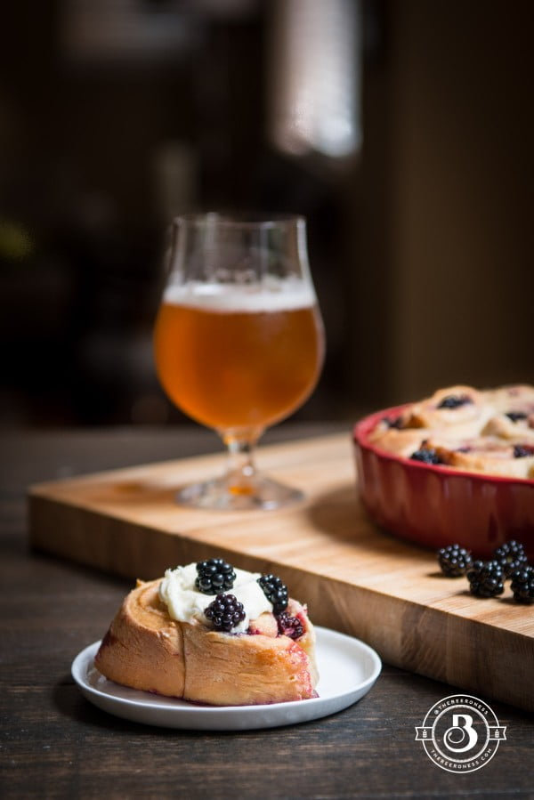 Blackberry Sweet Rolls #beer #dinner #recipe #food