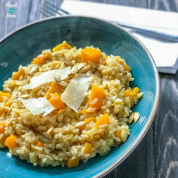 Syn Free Butternut Squash Risotto #risotto #rice #dinner #recipe #food