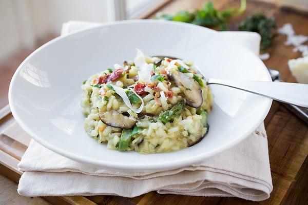 Mushroom Risotto #risotto #rice #dinner #recipe #food