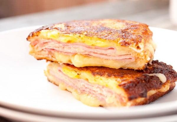 Classic Monte Cristo Sandwich #sandwich #lunch #snack #recipe