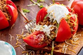 Taco Tomatoes Are Our All-Time Favorite Low-Carb Hack #tomato #recipe #dinner