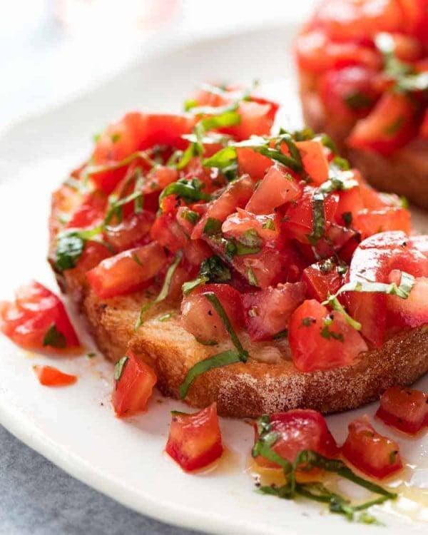 Bruschetta #tomato #recipe #dinner