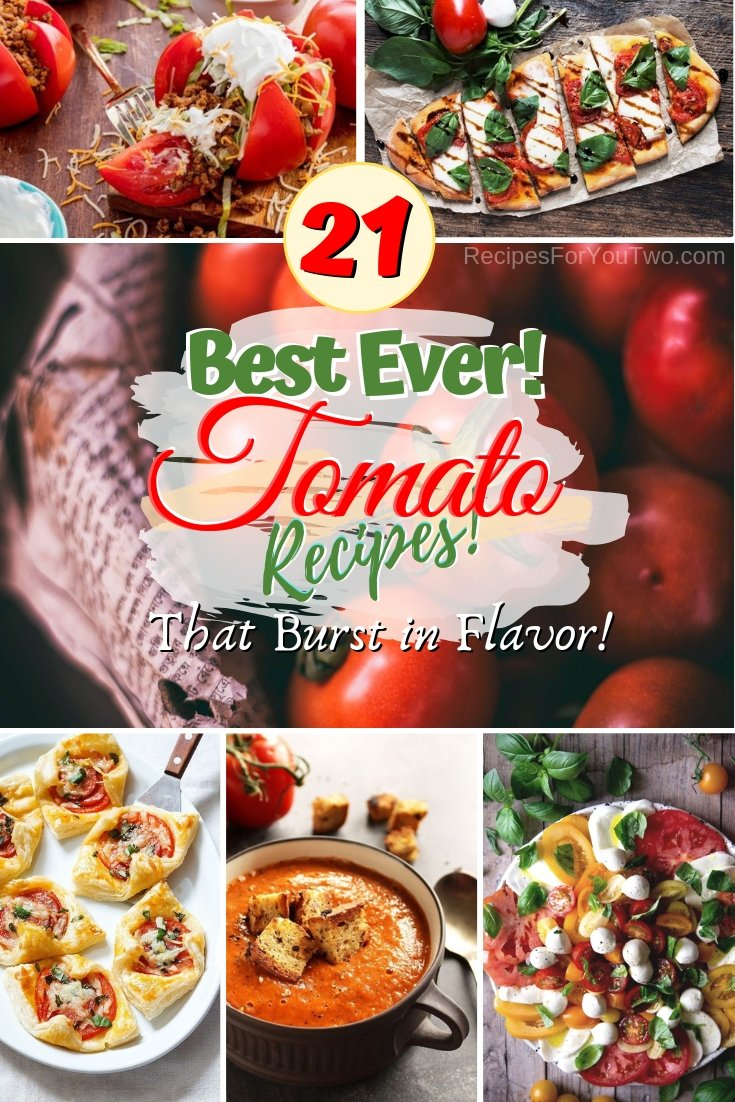 Rediscover the humble tomato and you'll see ow flavorful dishes with this veggies as the main ingredient can be. These will make Italian cuisine proud! #recipe #Italianfood #dinner #salad #lunch #healthy