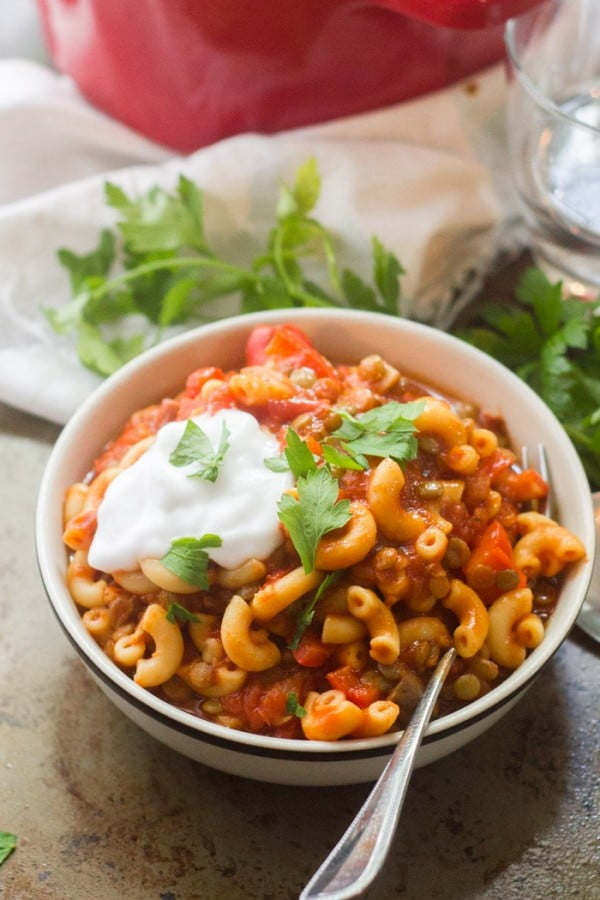 Vegan American Goulash #vegan #dinner #recipe #healthy #food