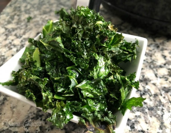 How to Cook Kale Chips in an Air Fryer #airfryer #recipe #snack