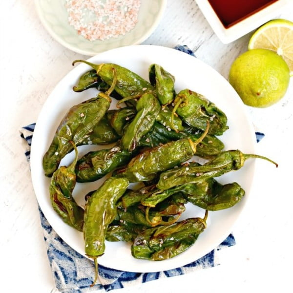 Air Fryer Shishito Peppers #airfryer #recipe #snack
