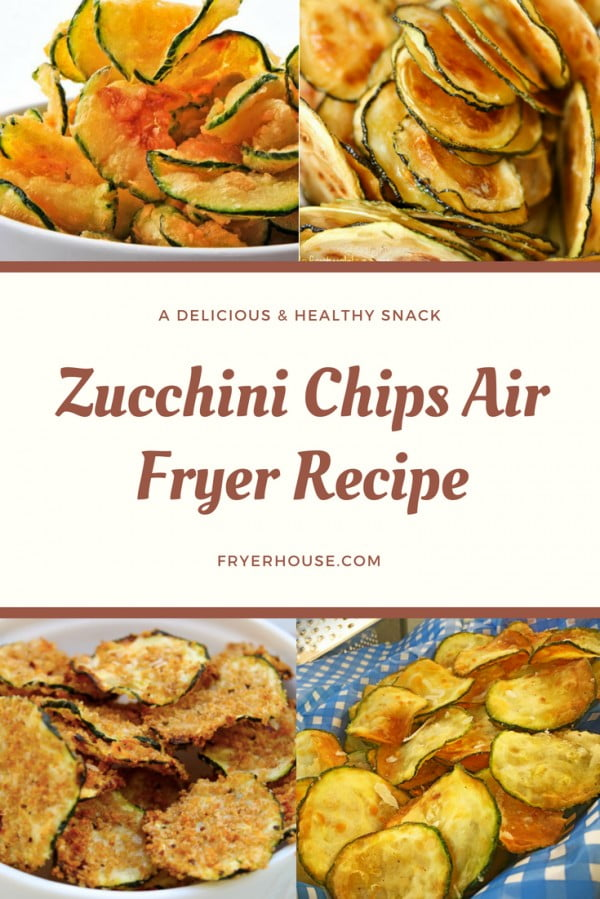 Zucchini Chips Air Fryer Recipe #airfryer #recipe #snack