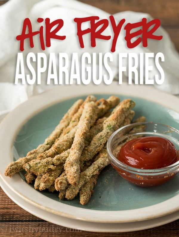 Air Fryer Asparagus Fries #airfryer #recipe #snack