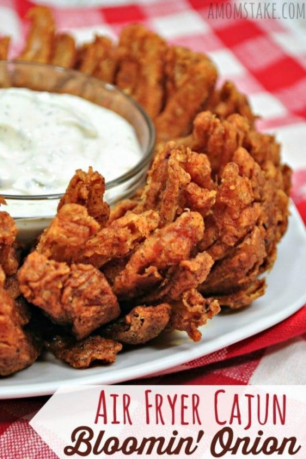Cajun Bloomin' Onion in an Air Fryer #airfryer #recipe #snack