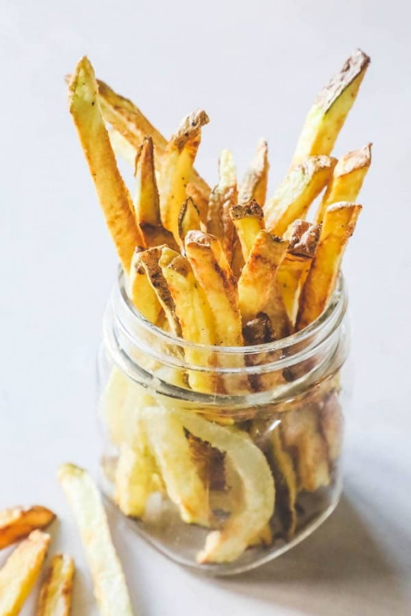 The Best Easy Air Fryer French Fries Recipe #airfryer #recipe #snack