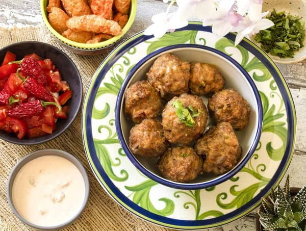 Taco Meatballs #airfryer #recipe #snack