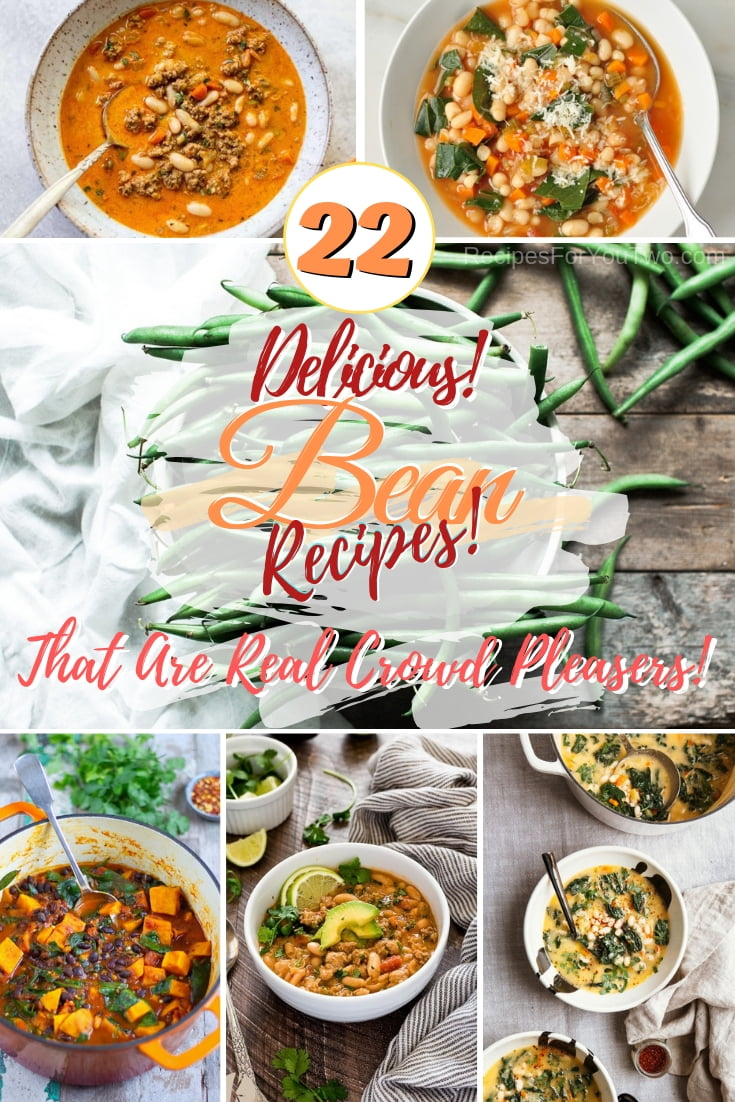 Add more beans to your dinner and lunch rotation with these great recipes! #beans #recipe #dinner #lunch