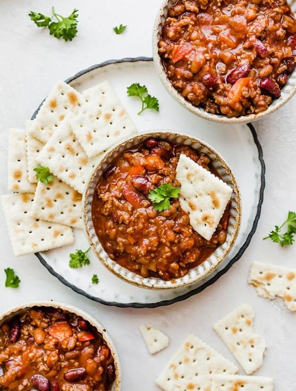 Sweet and Spicy Chili #chili #recipe #dinner
