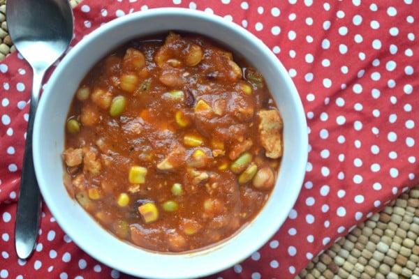 Copycat Panera Turkey Chili- Instant Pot Recipe #chili #recipe #dinner